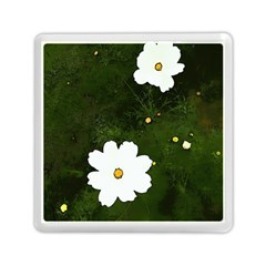 Daisies In Green Memory Card Reader (Square)