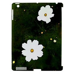 Daisies In Green Apple iPad 3/4 Hardshell Case (Compatible with Smart Cover)