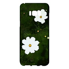 Daisies In Green Samsung Galaxy S8 Plus Hardshell Case