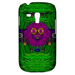 Summer Flower Girl With Pandas Dancing In The Green Galaxy S3 Mini
