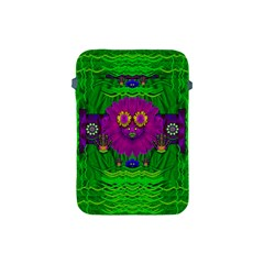 Summer Flower Girl With Pandas Dancing In The Green Apple iPad Mini Protective Soft Cases