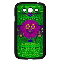 Summer Flower Girl With Pandas Dancing In The Green Samsung Galaxy Grand Duos I9082 Case (black)