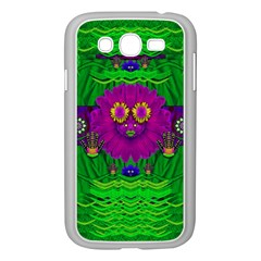 Summer Flower Girl With Pandas Dancing In The Green Samsung Galaxy Grand Duos I9082 Case (white)