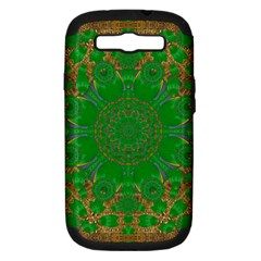 Summer Landscape In Green And Gold Samsung Galaxy S Iii Hardshell Case (pc+silicone)