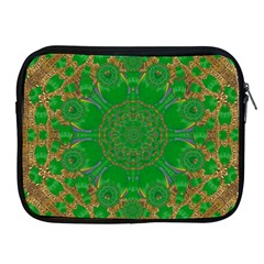 Summer Landscape In Green And Gold Apple Ipad 2/3/4 Zipper Cases