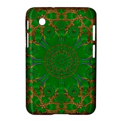 Summer Landscape In Green And Gold Samsung Galaxy Tab 2 (7 ) P3100 Hardshell Case