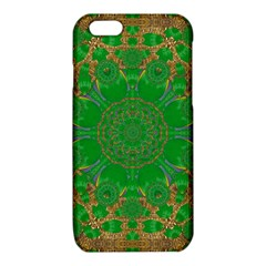 Summer Landscape In Green And Gold iPhone 6/6S TPU Case