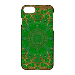 Summer Landscape In Green And Gold Apple iPhone 7 Hardshell Case