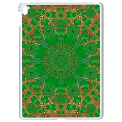 Summer Landscape In Green And Gold Apple iPad Pro 9.7   White Seamless Case