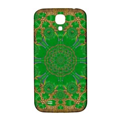 Summer Landscape In Green And Gold Samsung Galaxy S4 I9500/I9505  Hardshell Back Case
