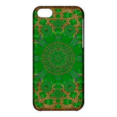 Summer Landscape In Green And Gold Apple Iphone 5c Hardshell Case