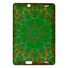 Summer Landscape In Green And Gold Amazon Kindle Fire HD (2013) Hardshell Case