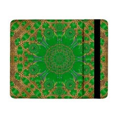 Summer Landscape In Green And Gold Samsung Galaxy Tab Pro 8 4  Flip Case