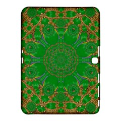 Summer Landscape In Green And Gold Samsung Galaxy Tab 4 (10.1 ) Hardshell Case