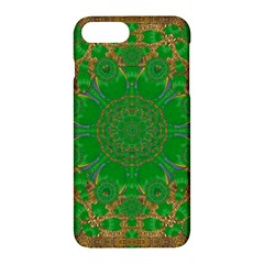 Summer Landscape In Green And Gold Apple iPhone 7 Plus Hardshell Case