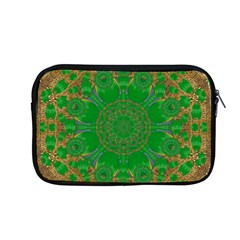 Summer Landscape In Green And Gold Apple Macbook Pro 13  Zipper Case