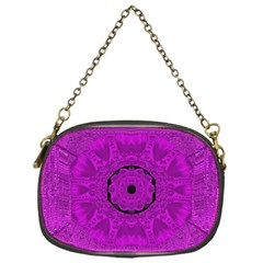 Purple Mandala Fashion Chain Purses (One Side)