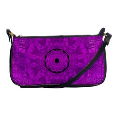 Purple Mandala Fashion Shoulder Clutch Bags