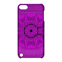 Purple Mandala Fashion Apple iPod Touch 5 Hardshell Case with Stand