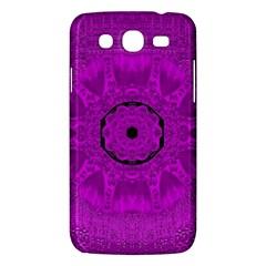 Purple Mandala Fashion Samsung Galaxy Mega 5.8 I9152 Hardshell Case