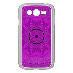 Purple Mandala Fashion Samsung Galaxy Grand Duos I9082 Case (white)