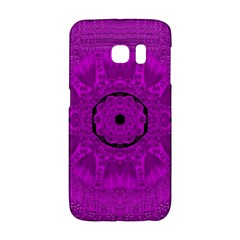 Purple Mandala Fashion Galaxy S6 Edge
