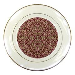 Mandala Art Paintings Collage Porcelain Plates