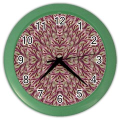Mandala Art Paintings Collage Color Wall Clocks