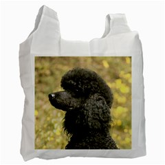 Poodle Black Recycle Bag (Two Side)
