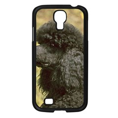 Poodle Black Samsung Galaxy S4 I9500/ I9505 Case (Black)