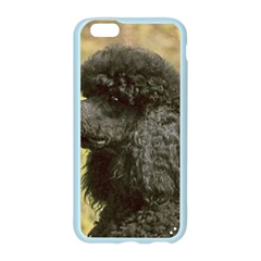 Poodle Black Apple Seamless iPhone 6/6S Case (Color)