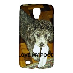 Poodle Love W Pic Silver Galaxy S4 Active