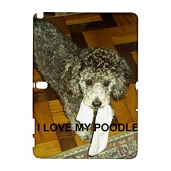 Poodle Love W Pic Silver Galaxy Note 1