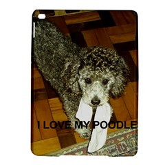 Poodle Love W Pic Silver iPad Air 2 Hardshell Cases