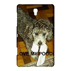 Poodle Love W Pic Silver Samsung Galaxy Tab S (8.4 ) Hardshell Case