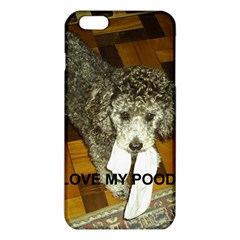 Poodle Love W Pic Silver iPhone 6 Plus/6S Plus TPU Case