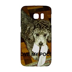 Poodle Love W Pic Silver Galaxy S6 Edge