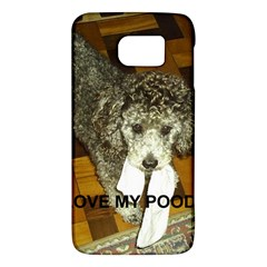 Poodle Love W Pic Silver Galaxy S6