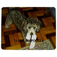 Poodle Love W Pic Silver Jigsaw Puzzle Photo Stand (Rectangular)