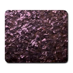 Pink Rainbow Shimmering Mother of Pearl Large Mousepads