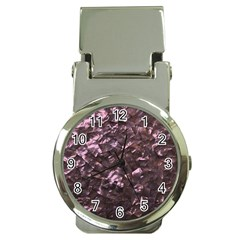 Pink Rainbow Shimmering Mother of Pearl Money Clip Watches