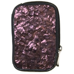 Pink Rainbow Shimmering Mother of Pearl Compact Camera Cases