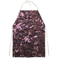 Pink Rainbow Shimmering Mother of Pearl Full Print Aprons