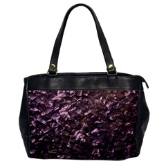 Pink Rainbow Shimmering Mother of Pearl Office Handbags