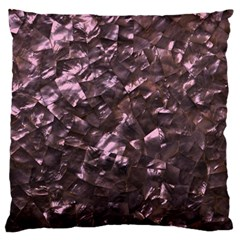 Pink Rainbow Shimmering Mother of Pearl Large Cushion Case (One Side)