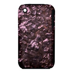 Pink Rainbow Shimmering Mother of Pearl iPhone 3S/3GS