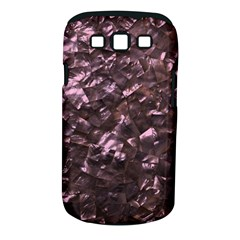 Pink Rainbow Shimmering Mother of Pearl Samsung Galaxy S III Classic Hardshell Case (PC+Silicone)
