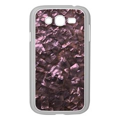 Pink Rainbow Shimmering Mother of Pearl Samsung Galaxy Grand DUOS I9082 Case (White)