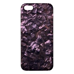 Pink Rainbow Shimmering Mother of Pearl iPhone 5S/ SE Premium Hardshell Case