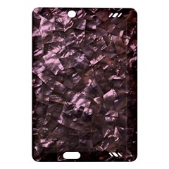 Pink Rainbow Shimmering Mother Of Pearl Amazon Kindle Fire Hd (2013) Hardshell Case